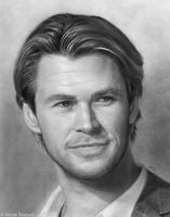 Chris Hemsworth by Quelchii