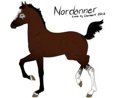 Nordanner foal 1876 by Copperoxides