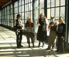 Steampunk group II. by hannah-tuatha
