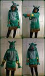 Reuniclus hoodie by TrafficConeCreations