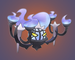 Mega Chandelure by MizterSiah