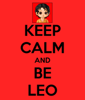 Keep Calm and Be Leo by annabethdp