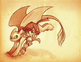 HTTYD by BloodnSpice