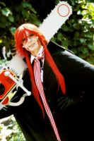 Grell Jack the Ripper Cosplay 1 by Eninaj27