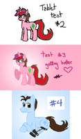Tablet Tests by Hottspinner