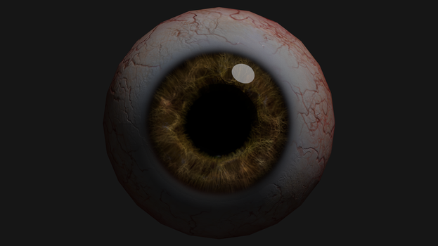 Eyeball Render by Jed-Stuart