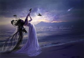 Playing for the falling stars by Addicted2disaster