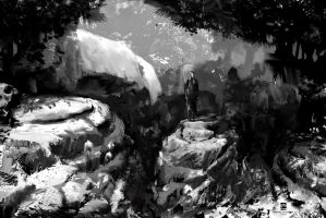 20150624 B+W Low Res Env Sketch by psdeluxe