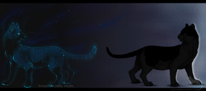 Stars and silhouettes by CunningFox