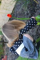 Planting a flower by stockmichelle