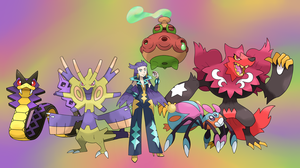 ELITE 4 - VIOLET by GregAndrade