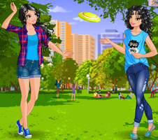 Day at the Park by ShadowButterflyPenta