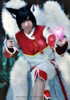 Ahri Gender bender cosplay by MickySF02