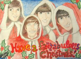 The Beatles wish you merry Christmas! by BoogieChan98