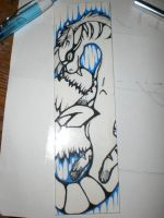 Another bookmark for a friend. by Seafrai