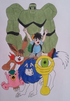 Monster Rancher by cavaloalado
