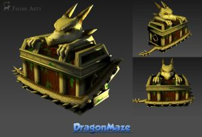 Dragon Chest by Feline-Arts