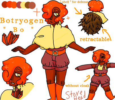 Botryogen reference by R4DCRYB4BY