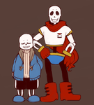 The Skeleton Brothers by wolfifi
