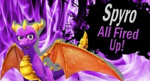 Spyro SSB4 Request by Elemental-Aura