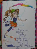 Bess-made with markers by SuperRainbowGirl