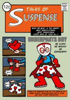 Underpants Boy comic-cover by AngelCrusher