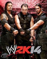 WWE 2K14 Card ~ The Shield by MhMd-Batista