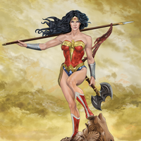 Diana of Themyscira by deemonHunter360