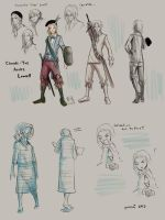 HS: claude-yves lowell, sketches. by purenai