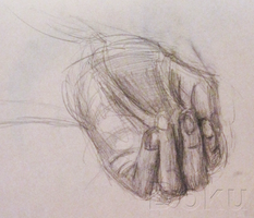 Hand by DokuPRODUCTIONS