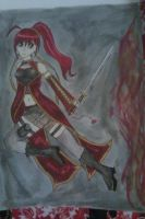 Anime Warrior Girl by Vocaloid01leaklady