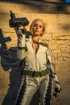 The Boss cosplay -MGS3 Snake Eater- by Poisonambra