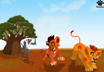 Run from the baboon D: by Mayshha