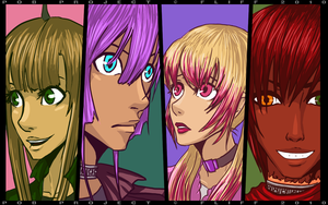 Cast .:COLORED:. by fliff