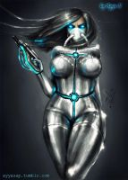 Robo-chick :) by AyyaSap