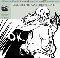 Undertale Ask: Sans question #5 by The-Star-Hunter