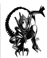 A sketch a day: Xenomorph by Electagonist