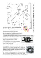 Privat Pansy pattern by PrototypeSpaceMonkey