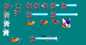 NineTails Sprite Sheet by Xemcail