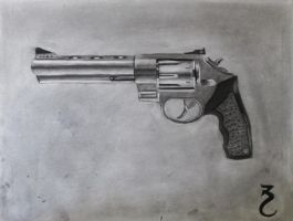Magnum Sketch (Charcoal) by artfreak5