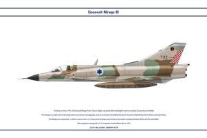 Mirage III Israel 4 by WS-Clave