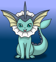 Vaporeon by DreamyNormy