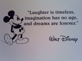 Disney Wall Quote by twilightgod14