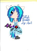 Dj-Pon3 or Vinyl Scratch by BeautifullyDarkened