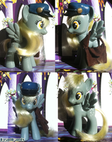 Derpy Hooves Custom with Mail Accessories by DeadPants