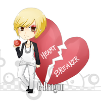 G-dragon - Heartbreaker by sayukino