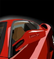Ferrari F430 Vectorised by Sundaime-sama