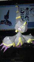 Mini Mega Banette papercraft by Everton11