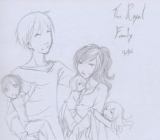 The Royal Family - DQ by Neridah
