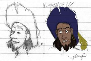 new clopin sketches by wings33